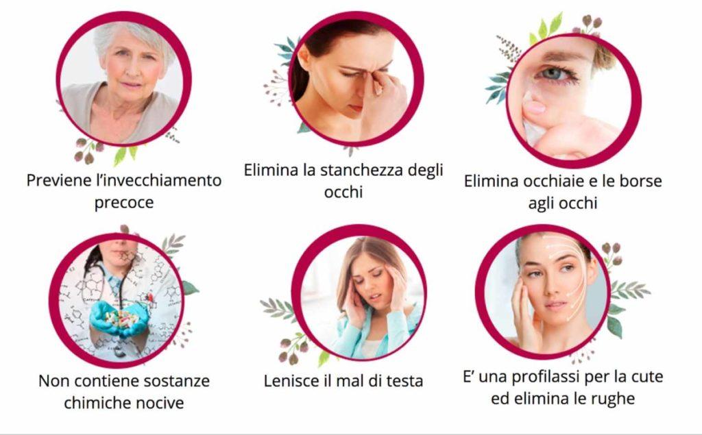 gli effetti di filler cream