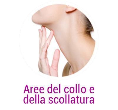 applicare il collagene sul collo e scollatura