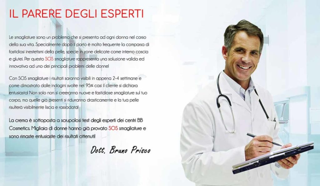 parere medico del dott. Bruno Prisco
