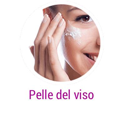 applicare sulla pelle del viso