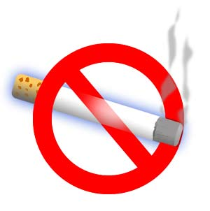 prevenire le macchie scure non fumando