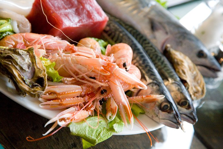 pesce e vitamine