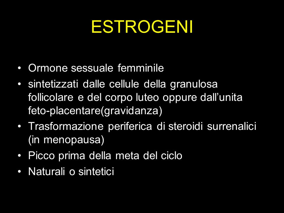 estrogeni