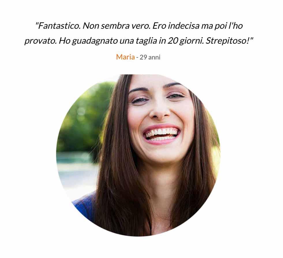 Maria testimonianza Senomax