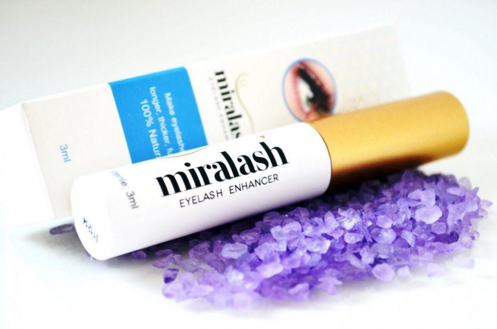 Confezione di Miralash eyelash Conditioner