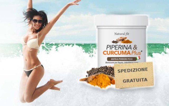 Piperina e Curcuma Plus per dimagrire: recensione di chi l'ha provata e dove comprarla