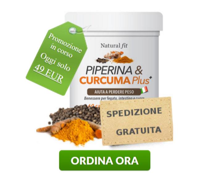 Sconto Piperina e Curcuma Plus