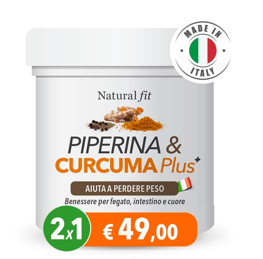 Sconto Piperina e Curcuma Plus
