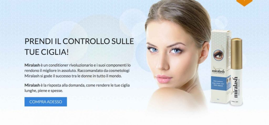 Dove comprare Miralash ciglia Conditioner
