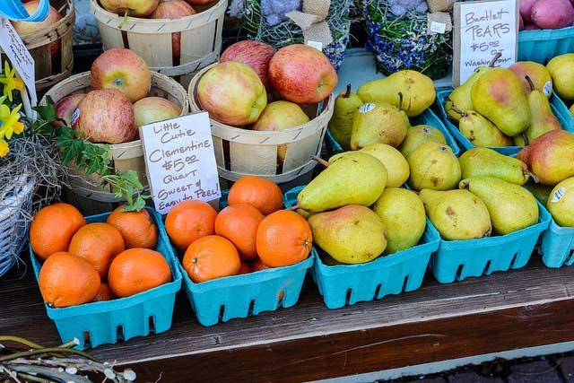 frutta e verdura ricca di calcio