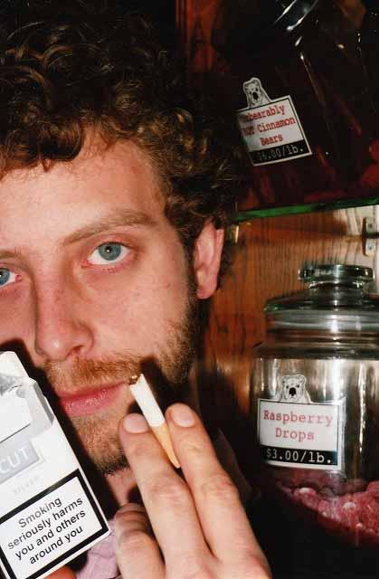 giovane tabagista