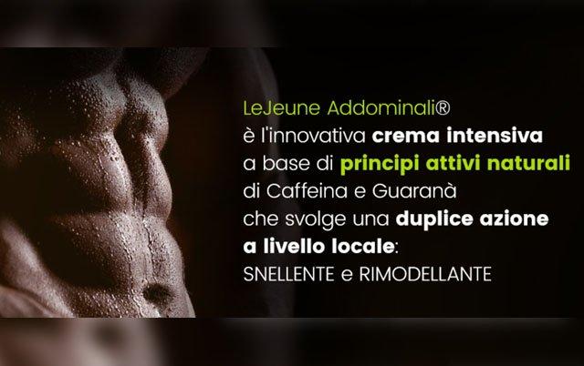 LeJeune Addominali crema rimodellante addominali: opinioni e dove comprarla