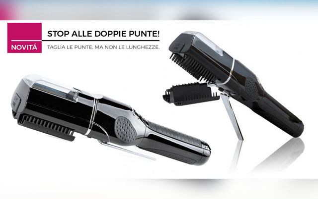 LUXURY HAIR SYSTEM: Elimina le doppie punte