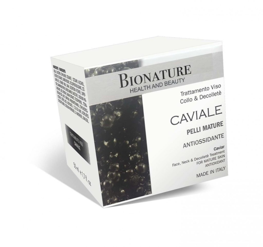 Crema antirughe al caviale