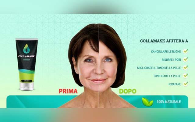 Collamask maschera facciale antirughe funziona davvero? INCI Opionioni e dove comprarla