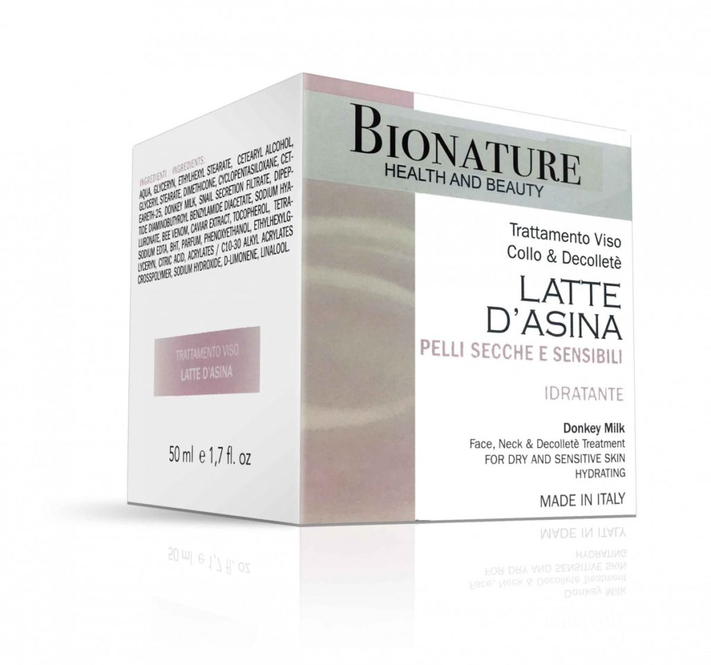 bionature antirughe al latte d'asina