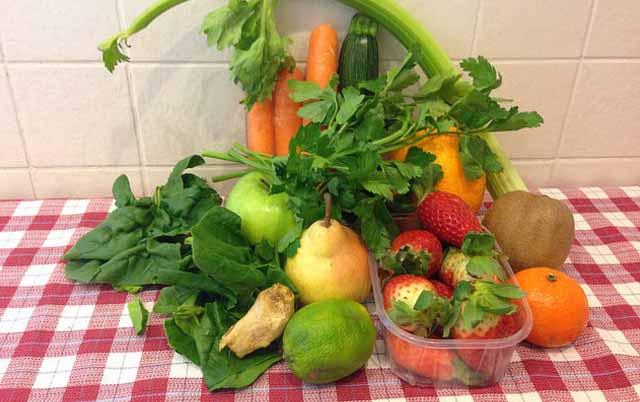 Centrifuga di frutta e verdure