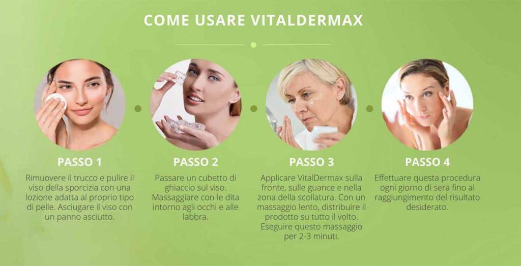 Come usare Vital Dermax