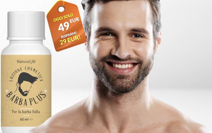Barba Plus Natural Fit per la crescita accelerata della barba. Funziona ? Recensioni e dove comprarla