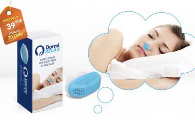 DormiRelax Natural fit il dilatatore nasale antirussamento. Funziona ? Opinioni costo e dove comprarla