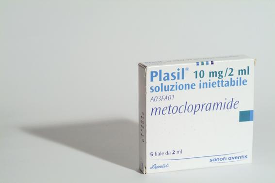 Plasil farmaco efficace contro la nausea ed il vomito