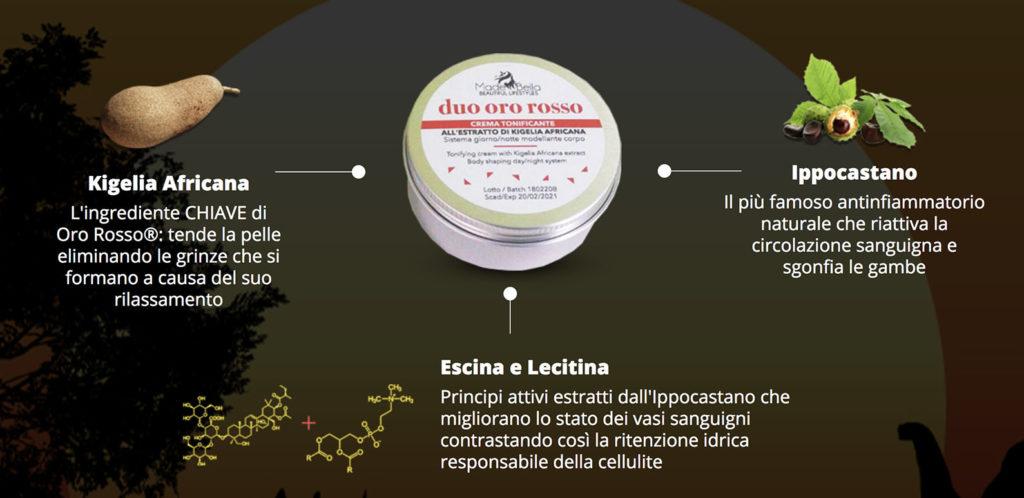 Inci Ed Ingredienti Crema Oro Rosso