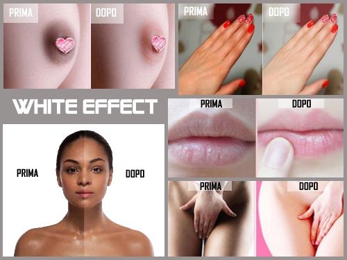 White effect crema schiarente parti intime (sbiancamento anale) . Opinioni, recensione e costo