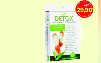 Cerotti di sale detox