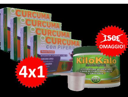 CURCUMA 4X1 KILOKALO