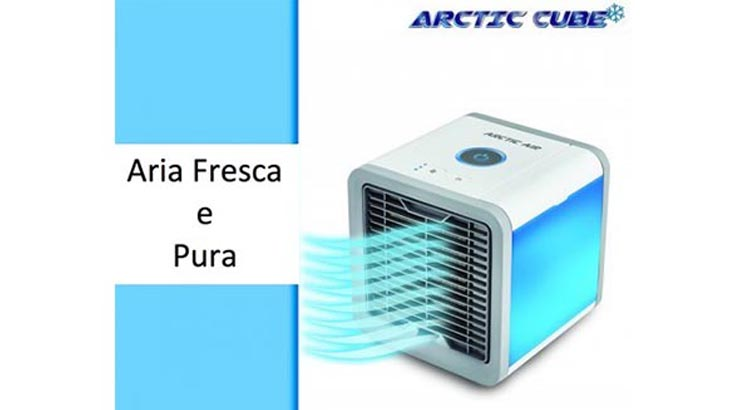Artic air cube condizionatore portatile ad acqua funziona davvero ?