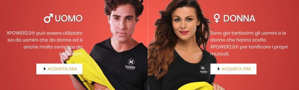 Xpower Addominali Uomo E Donna