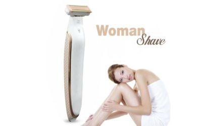 woman shave epilatore