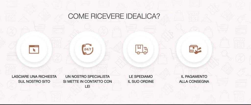 Come Ordinare Idealica