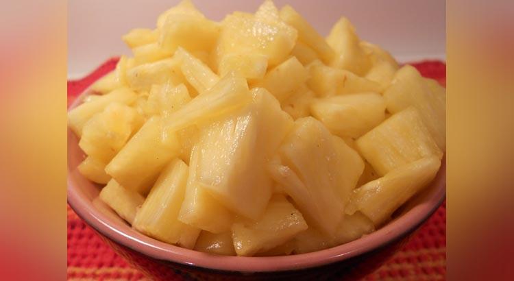 dieta dell'ananas fa bene?