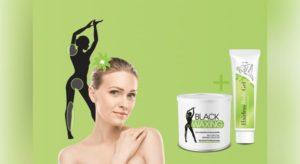 hairless body gel e black waxing