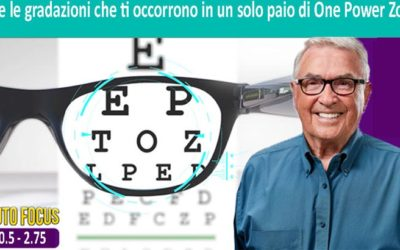 occhiali con zoom
