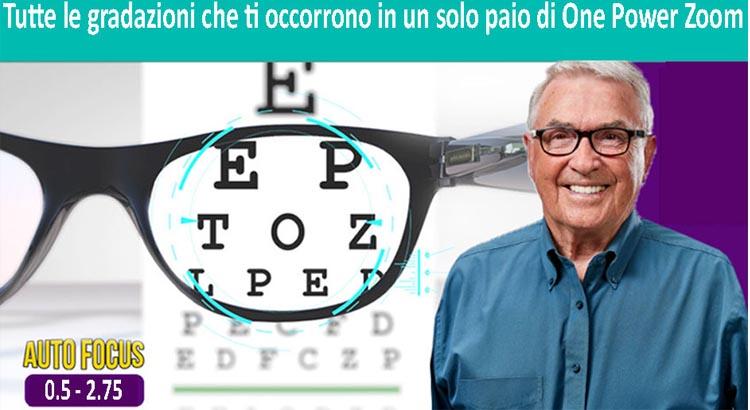 Onepower Zoom occhiali autoregolabili. Sono una truffa o funzionano? La recensione ed il sito ufficiale