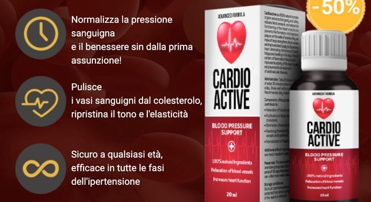 Cardio Active: normalizza la pressione sanguigna: recensione e costo
