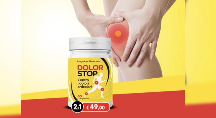 Dolor Stop integratore per dolori articolari. Opinioni e dove comprarla.
